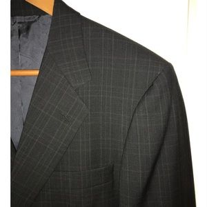 Hickey-Freeman Men's Single-Breasted Sportcoat 42S